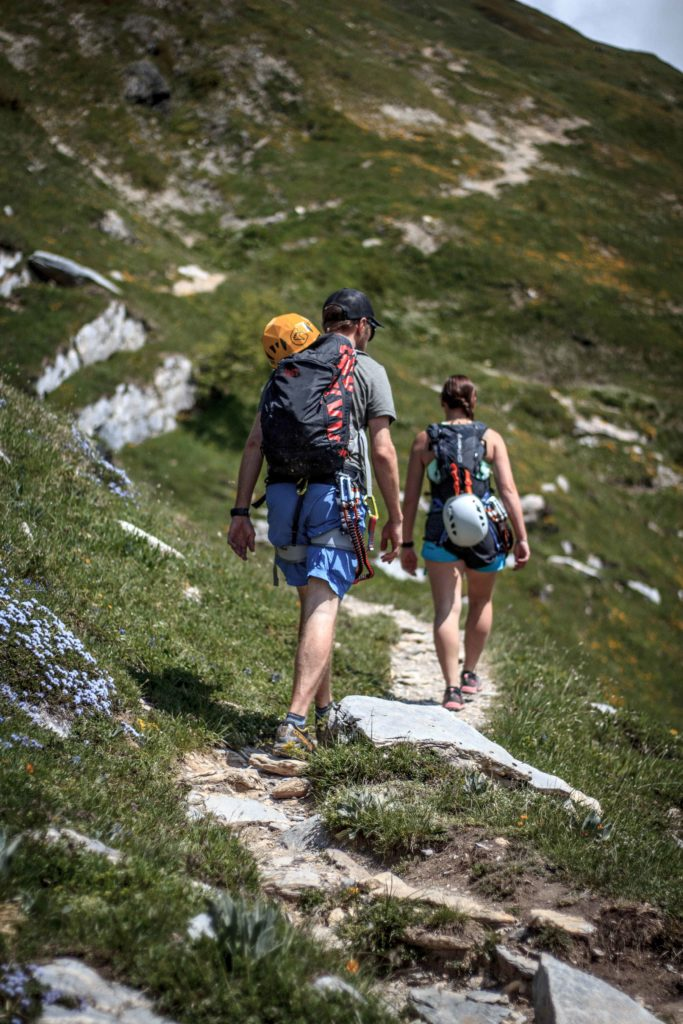 via ferrata roc du vent - areche - the weekend warrior.fr 06