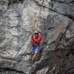 via ferrata roc du vent - areche - the weekend warrior.fr 07