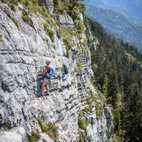 via ferrata curalla passy - the weekend warrior.fr 12