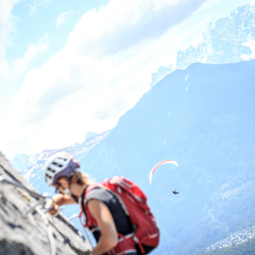 via ferrata curalla passy - the weekend warrior.fr 13