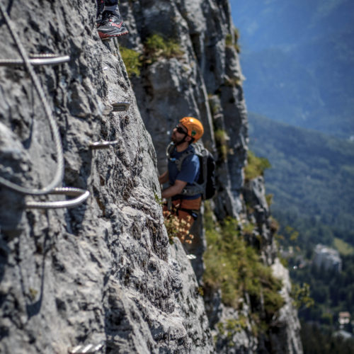 via ferrata curalla passy - the weekend warrior.fr 10
