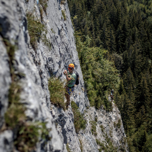 via ferrata curalla passy - the weekend warrior.fr 09