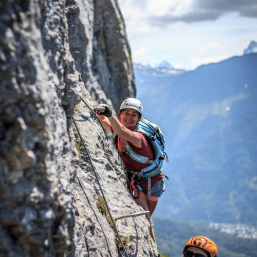 via ferrata curalla passy - the weekend warrior.fr 08